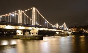 chelsea bridge illumination